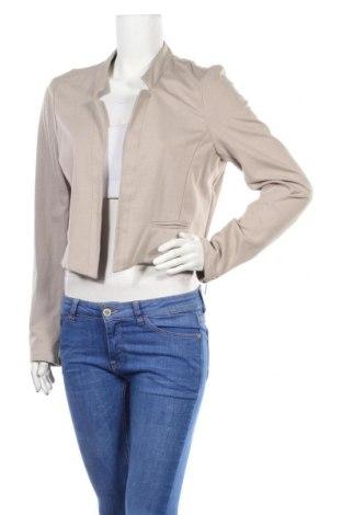 Дамско сако Jeanswest, Размер L, Цвят Бежов, 67% вискоза, 29% полиамид, 4% еластан, Цена 11,85лв.