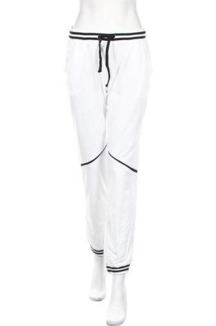 Дамско спортно долнище, Размер M, Цвят Бял, Цена 16,91лв.