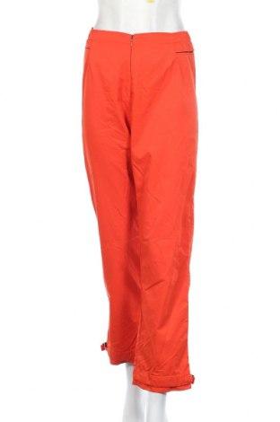Дамско спортно долнище Adidas, Размер S, Цвят Оранжев, 100% полиамид, Цена 5,88лв.
