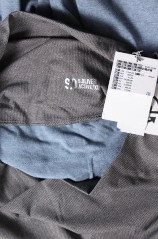 Дамско спортно долнище S.Oliver, Размер XL, Цвят Син, Памук, полиамид, полиестер, еластан, Цена 51,00лв.
