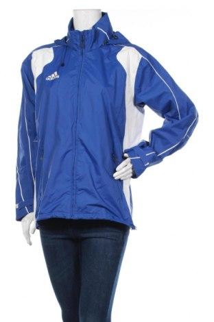Дамско спортно яке Adidas, Размер L, Цвят Син, Цена 13,13лв.