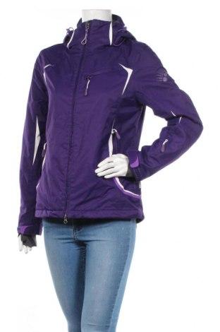 Дамско спортно яке Alpine, Размер XS, Цвят Лилав, Полиестер, Цена 41,48лв.