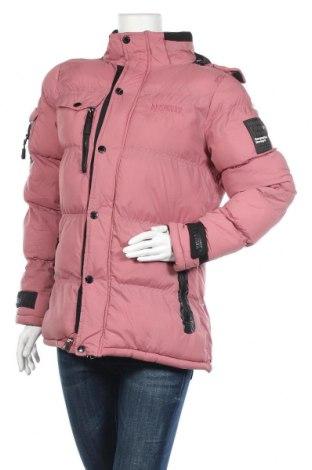 Дамско яке Geographical Norway, Размер S, Цвят Розов, 100% полиестер, Цена 131,97лв.