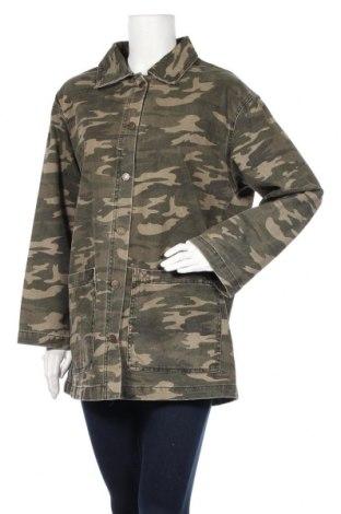 Дамско яке Pull&Bear, Размер L, Цвят Зелен, Цена 50,61лв.