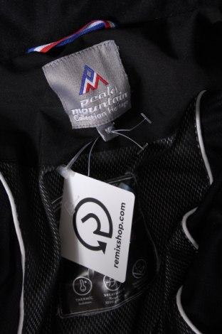 Дамско яке за зимни спортове Peak Mountain, Размер M, Цвят Черен, Полиестер, Цена 96,80лв.