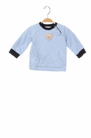 Детска блуза Steiff, Размер 3-6m/ 62-68 см, Цвят Син, 68% памук, 2% полиестер, Цена 10,92лв.