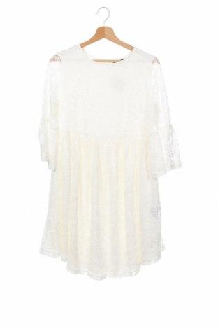Детска рокля LMTD, Размер 12-13y/ 158-164 см, Цвят Бял, Полиестер, Цена 20,16лв.