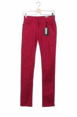 Детски дънки Cyrillus, Размер 13-14y/ 164-168 см, Цвят Розов, 98% памук, 2% еластан, Цена 13,72лв.