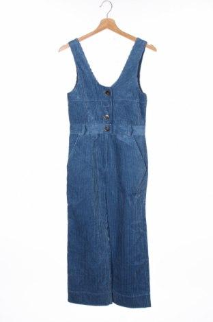 Детски гащеризон Zara Kids, Размер 10-11y/ 146-152 см, Цвят Син, Памук, Цена 32,45лв.