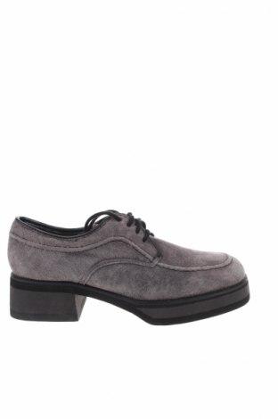 Παιδικά παπούτσια Hush Puppies, Μέγεθος 31, Χρώμα Γκρί, Φυσικό σουέτ, Τιμή 12,05€