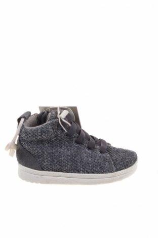Детски обувки Zara Kids, Размер 18, Цвят Сив, Текстил, Цена 26,46лв.