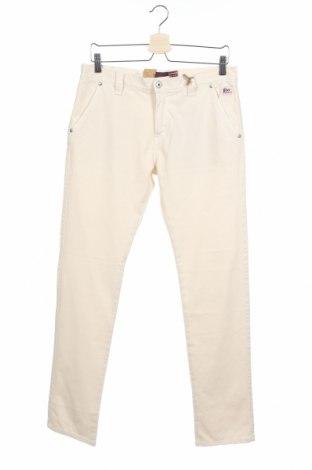 Παιδικό παντελόνι Roy Roger's, Μέγεθος 15-18y/ 170-176 εκ., Χρώμα Εκρού, Βαμβάκι, Τιμή 12,53€