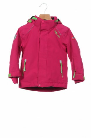 Детско спортно яке Trollkids, Размер 2-3y/ 98-104 см, Цвят Розов, Полиестер, Цена 62,56лв.