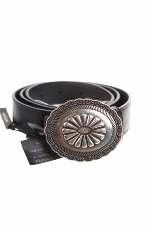 Колан Massimo Dutti, Цвят Черен, Естествена кожа, Цена 53,30лв.