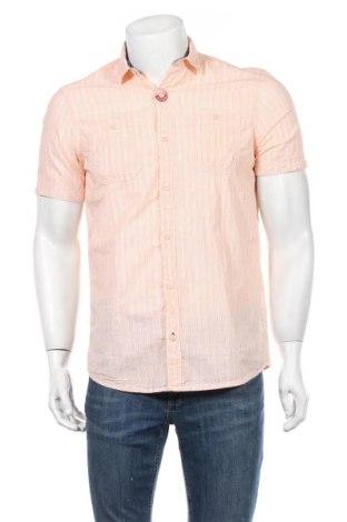 Мъжка риза S.Oliver, Размер S, Цвят Оранжев, Памук, Цена 7,80лв.