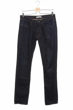 Мъжки дънки Acne, Размер S, Цвят Син, Памук, Цена 46,00лв.