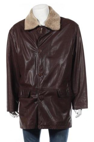 Мъжко кожено яке Arma, Размер L, Цвят Кафяв, Естествена кожа, Цена 87,53лв.