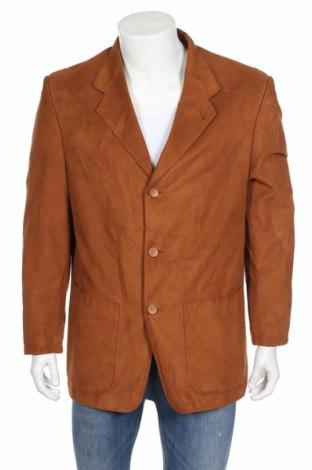 Мъжко сако Authentic Clothing Company, Размер L, Цвят Кафяв, Полиестер, Цена 3,78лв.