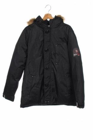 Дамско яке Geographical Norway, Размер M, Цвят Черен, Полиестер, Цена 149,50лв.