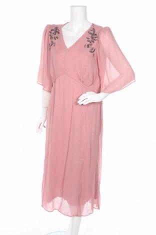 Φόρεμα Noa Noa, Μέγεθος XL, Χρώμα Ρόζ , Βισκόζη, Τιμή 31,37€