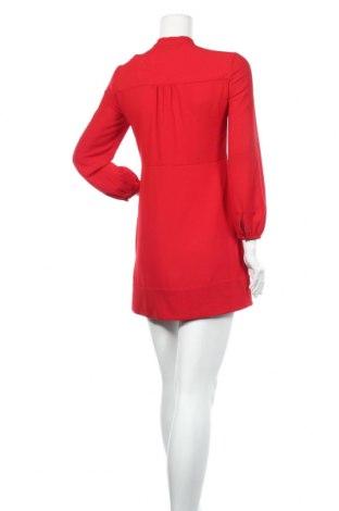 Рокля Zara, Размер M, Цвят Червен, Полиестер, Цена 51,75лв.