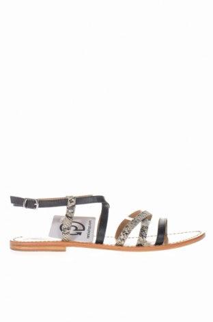 Σανδάλια W.S Shoes, Μέγεθος 41, Χρώμα Μαύρο, Γνήσιο δέρμα, Τιμή 8,25€