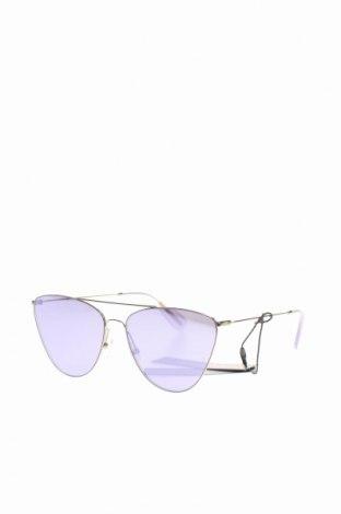 Слънчеви очила BCBG Max Azria, Цвят Сив, Цена 119,07лв.