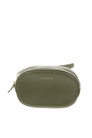 Τσάντα Coccinelle, Χρώμα Πράσινο, Γνήσιο δέρμα, Τιμή 110,42€