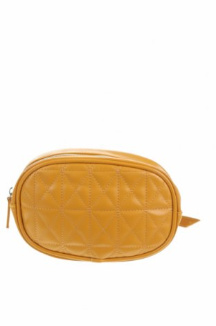 Чанта за кръст Pink Woman, Цвят Жълт, Еко кожа, Цена 25,20лв.