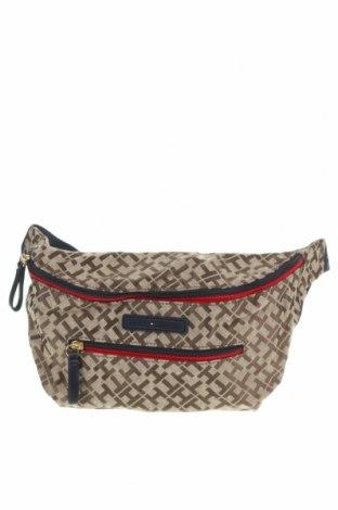 Чанта за кръст Tommy Hilfiger, Цвят Бежов, Текстил, Цена 39,90лв.