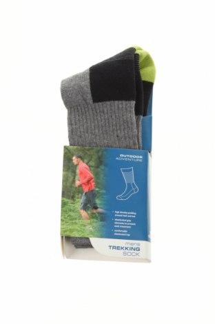 Ponožky Trespass, Velikost M, Barva Šedá, 70% bavlna, 20% polyamide, 10% elastan, Cena  302,00Kč
