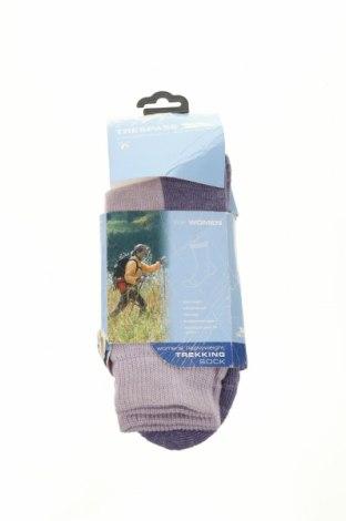 Ponožky Trespass, Velikost S, Barva Fialová, 55% vlna, 35% jiné tkaniva , 7% polyamide, 3% elastan, Cena  370,00Kč
