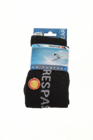 Ponožky Trespass, Velikost S, Barva Černá, 40% merino , 40%acryl, 20% polyamide, Cena  457,00Kč