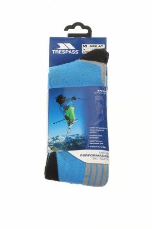 Ponožky Trespass, Velikost M, Barva Modrá, 65% bavlna, 33% polyamide, 2% elastan, Cena  325,00Kč