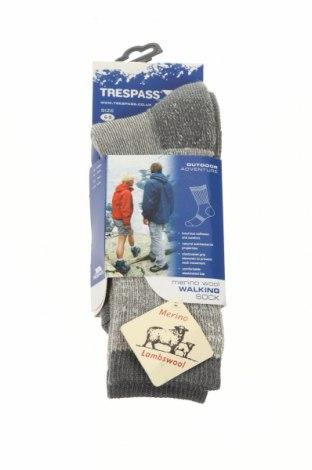 Ponožky Trespass, Velikost M, Barva Šedá, 85% merino , 15% polyamide, Cena  500,00Kč
