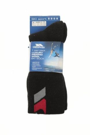 Ponožky Trespass, Velikost L, Barva Černá, 40% merino , 40%acryl, 20% polyamide, Cena  457,00Kč