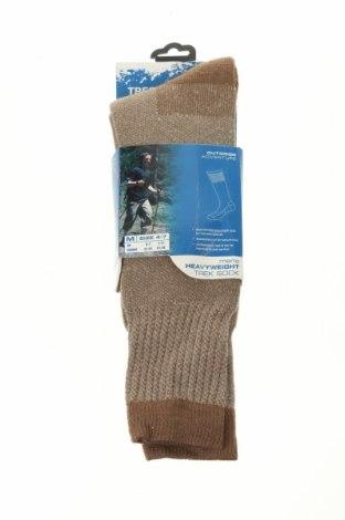 Ponožky Trespass, Velikost M, Barva Béžová, 70%acryl, 10% vlna, 10%acryl, 10% polyamide, Cena  348,00Kč