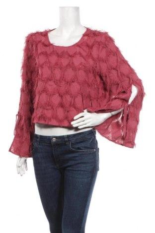 Γυναικεία μπλούζα & Other Stories, Μέγεθος M, Χρώμα Ρόζ , Πολυεστέρας, Τιμή 20,78€