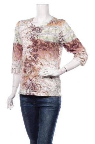 Дамска блуза Adagio, Размер M, Цвят Многоцветен, 95% памук, 5% еластан, Цена 18,90лв.