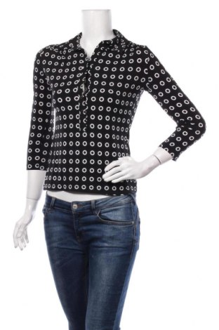 Дамска блуза Alfani, Размер S, Цвят Черен, 95% полиестер, 56% еластан, Цена 17,85лв.
