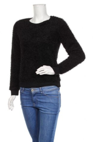 Дамска блуза Amisu, Размер S, Цвят Черен, Полиестер, Цена 19,95лв.