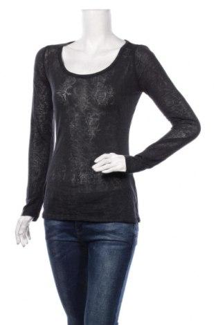 Дамска блуза Amisu, Размер S, Цвят Черен, 50% памук, 50% полиестер, Цена 18,90лв.