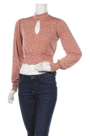 Дамска блуза Amisu, Размер S, Цвят Розов, 95% полиестер, 5% еластан, Цена 18,90лв.