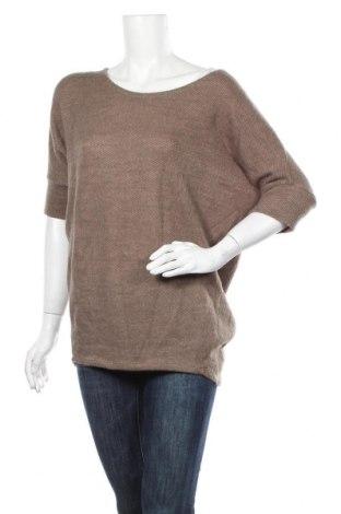 Дамски пуловер Apricot, Размер S, Цвят Бежов, 95% акрил, 5% еластан, Цена 27,30лв.