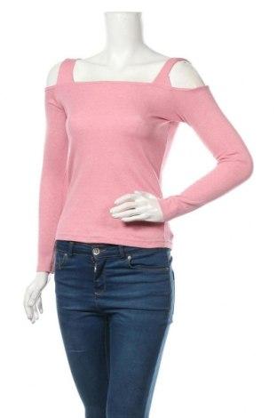 Дамска блуза Atmosphere, Размер M, Цвят Розов, 60% полиестер, 35% памук, 5% еластан, Цена 17,85лв.