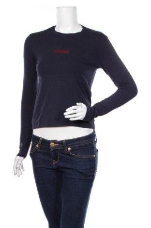 Bluzka damska Calvin Klein Jeans, Rozmiar S, Kolor Niebieski, 95% bawełna, 5% elastyna, Cena 93,60zł