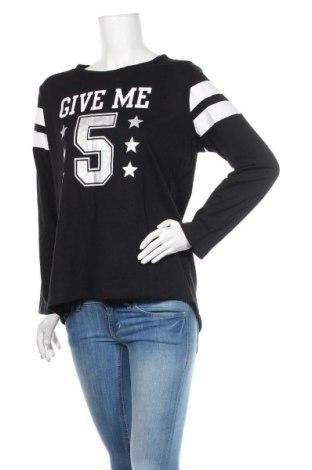 Γυναικεία μπλούζα Coop, Μέγεθος L, Χρώμα Μαύρο, Βαμβάκι, Τιμή 9,74€