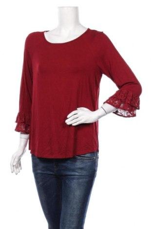 Дамска блуза Daniel Rainn, Размер L, Цвят Червен, 96% вискоза, 4% еластан, Цена 35,70лв.