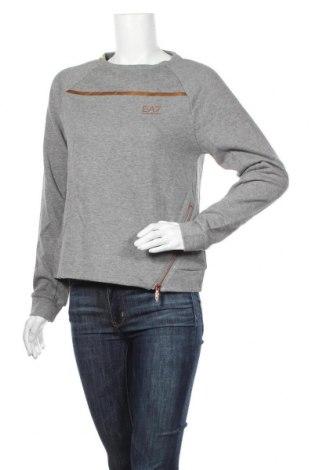 Bluză de femei Emporio Armani, Mărime S, Culoare Gri, 51% bumbac, 49% poliester, Preț 532,40 Lei