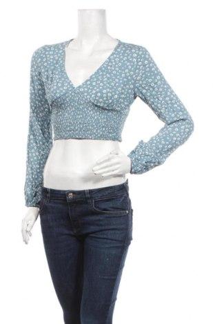 Дамска блуза Garage, Размер XS, Цвят Син, Вискоза, Цена 17,85лв.